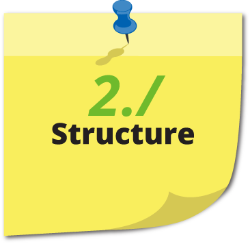 english - structure