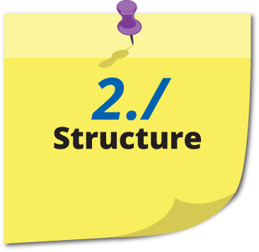 Chinese - structure